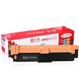 天威(PrintRite)TN281C蓝色粉盒专业装适用兄弟HL-3140CW3150CDW3170CDW3142CW