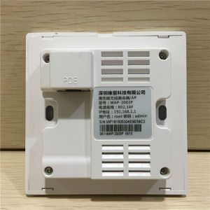 维盟(wayos)WAP-2003P入墙式300M无线AP酒店商场企业POE供电覆盖