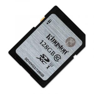 金士顿(Kingston)128GB80MB/sSDClass10UHS-I高速存储卡