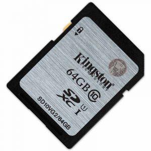 金士顿(Kingston)64GB80MB/sSDClass10UHS-I高速存储卡
