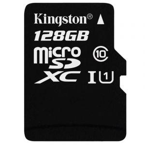 金士顿(Kingston)128GB80MB/sTF(MicroSD)Class10UHS-I高速存储卡
