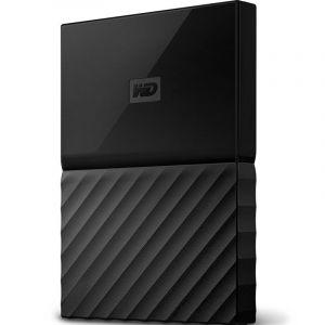 西部数据(WD)MyPassport2TB2.5英寸经典黑移动硬盘WDBYFT0020BBK-CESN