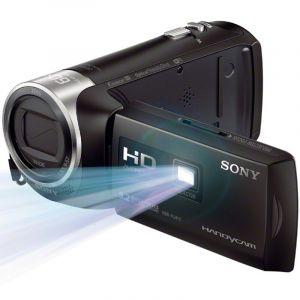 索尼(SONY)HDR-PJ410高清数码摄像机光学防抖30倍光学变焦蔡司镜头内置投影WIFI/NFC