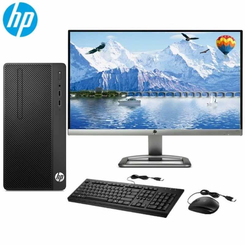 惠普HP280ProG4MTBusinessPC-N6010000059HP280ProG4MTG4900/4G/500G/NOCD/无系统/19.5寸显示器黑色主机+19.5显示器+键盘鼠标