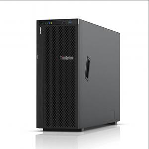 联想(Lenovo) ThinkSystem ST558 塔式服务器主机 4U双路 2颗银牌4110 8核2.1G CPU 双电源 64G内存 | 480G SSD+ 3块600G 10k 硬盘| 530-8I 阵列卡+联想显示器S24E