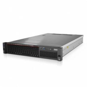 联想Lenovo SR590 2U 双路机架式服务器(1颗铜牌31046核1.7G32GBDDR4,8x3.5热插拔盘位,2x2TSATA7.2K,R530-8i0/1/5,550W铂金单)