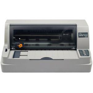 富士通(Fujitsu) DPK7010 80列平推针式票据证件打印机