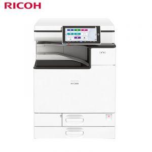 理光(Ricoh)IM C3000 彩色数码复合机(双纸盒+双面送稿器+内置装订+工作台)