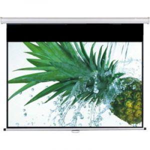 富士通(Fujitsu)电动遥控幕布 100寸 16:10 白塑