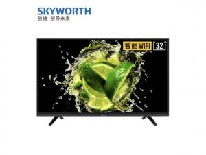 创维(SKYWORTH)32X6 32英寸10核窄边高清 人工智能 网络WIFI 卧室液晶平板电视机(包架子安装)