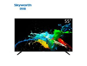 创维(SKyworth)55F5 12核4K超高清HDR人工智能语音 55寸LED平板电视