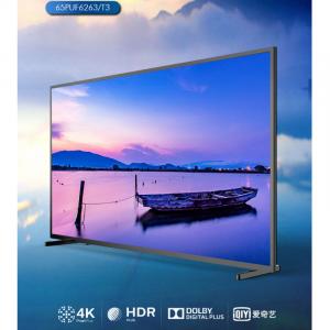 飞利浦(PHILIPS)65PUF6263/T3 65英寸4K液晶电视机 有线网络连接 3840*2160分辨率 LED显示屏 二级能效 一年保修